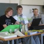 Schüler der Walddörfer Gesamtschule in Hamburg