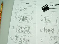 Storyboards erleichtern das Arbeiten